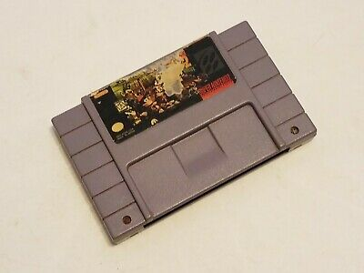 Super Nintendo SNES Donkey Kong Country 2 Diddy's Kong Quest Game Cartridge ONLY