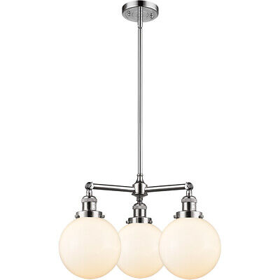 Innovations Lighting 207-PC-G201-8 Beacon Chandelier Polished Chrome