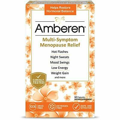 Amberen Menopause Relief Restores Hormonal Balance, 60 capsules, 400mg