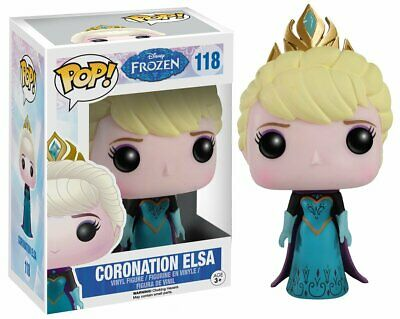 Flawed Box Funko Pop Disney Frozen Coronation Elsa #118 Figure Vinyl