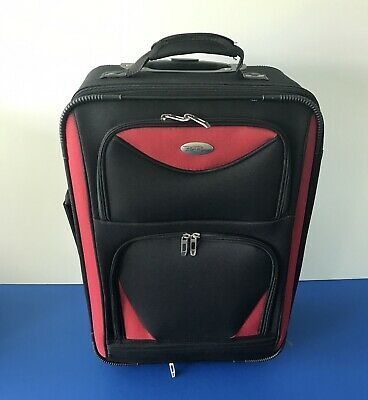 Bella Russo Carry-on Rolling Luggage Travel Suitcase Expandible 22'x16'x9.5'