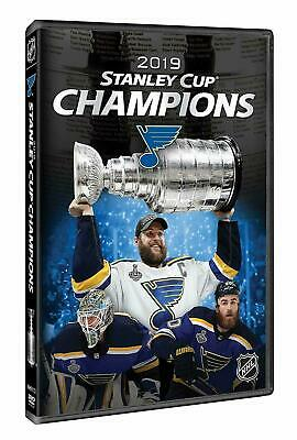 2019 Stanley Cup Champions (DVD, 2019) St. Louis Blues, Brand New, Preorder