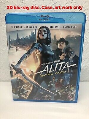 Alita Battle Angel 3D Blu Ray Only ( PLEASE READ THE DESCRIPTION BEFORE BUYING)