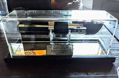 Star Wars ANH Darth Vader Lightsaber (Master Replicas Style) W/Case & Plaque!!