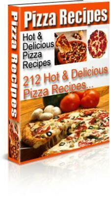 Pizza Recipes Hot & Delicious Book with Full Master Resell Rights