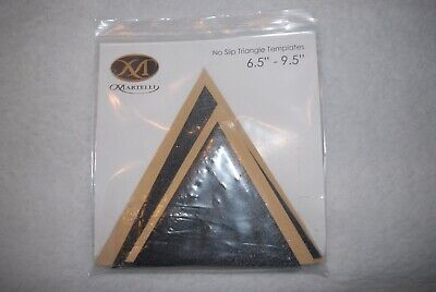 "Martelli No Slip Triangles Template 6.5"" - 9.5"""