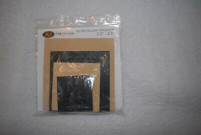 "Martelli No Slip Square Templates 2.5"" - 5.5"""