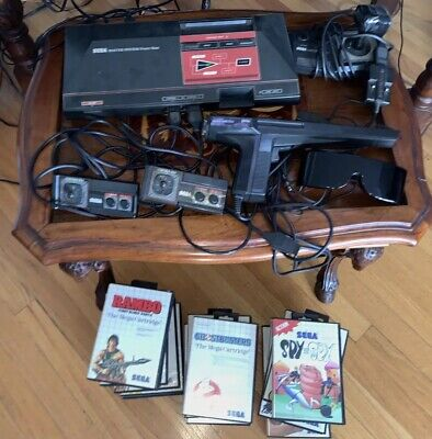 Sega Master System Video Game Console Lot