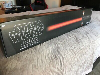 Star Wars Disney Parks The Last Jedi Kylo Ren Red Lightsaber w/ Removable Blade