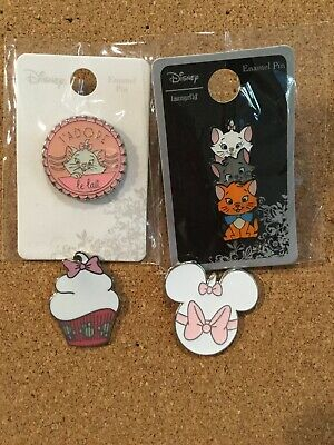 Marie Aristocats Disney Parks Pin Set