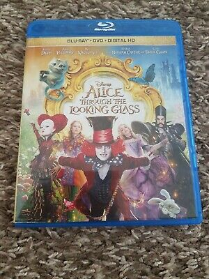 Alice Through the Looking Glass (Blu-ray/DVD, 2016  2-Disc Set)