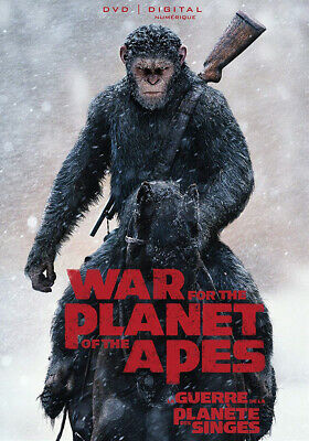 War for the Planet of the Apes DVD / 2017 / Canadian Bilingual / No DIG