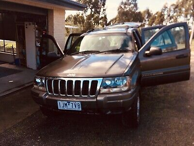 Jeep Grand Cherokee MY2000, V8 auto 4WD 4x4 SUV low Km NO RESERVE auction.