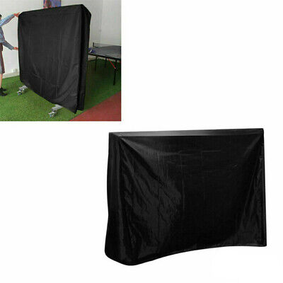Black Waterproof Ping Pong Table Storage Table Tennis Sheet Protector Cover Sun