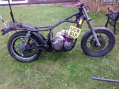 HONDA CG 125 project cafe racer spares or repairs v5 - £350 00