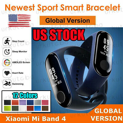 US Global Version Xiaomi Mi Band4 Newest BT5.0 Smart Sport Bracelet Wristband