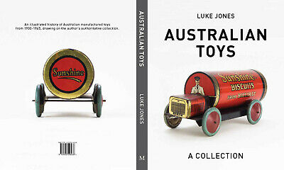 Australian Toys: A Collection - author signed new hardcover book by Luke Jones