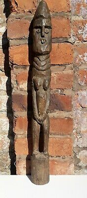 Old and Rare Tribal Used African Konso Waka Grave figure - Ethiopia ,äthiopien