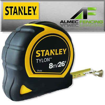 STA30-656 2X Stanley Durable 8m//26ft Pocket Tape Measure with Long life Tylon™