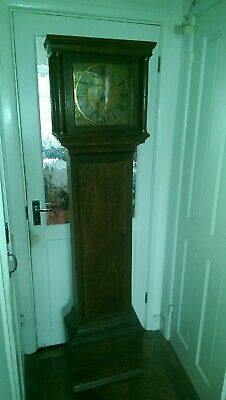 Grandfather Clock James Blunden Of Fish Born 19th Century For Restoration
