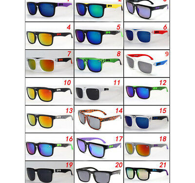 22 Colors Stylish SPY1 Ken Block Cycling Outdoor Sports Sunglasses Shades UV400