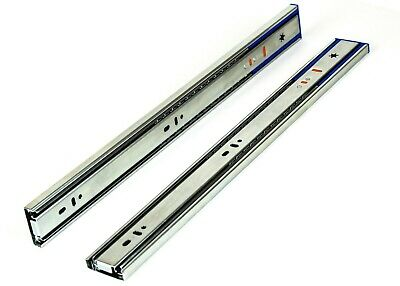 "Ball Bearing Full Extension 10""-24"" Soft Close Drawer Slides 15 Pairs Value Pack"