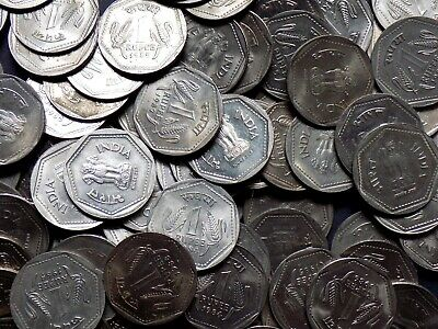 INDIA 2 RUPEES 5 Different Coin Set  Rare Collectible 2 Rs Coins
