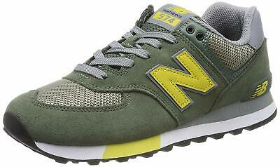 NEW BALANCE 574V2, Sneaker Uomo ML574FNE GREEN SCARPA