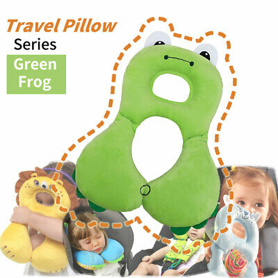 Infant Stroller Neck Cushion U Shape Pillow-Baby Carseat Head Support Pillow