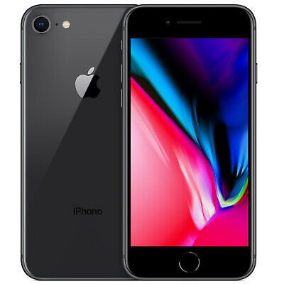 APPLE iPHONE 8 64GB RICONDIZIONATO GRADO A SPACE GREY ORIGINALE RIGENERATO USATO