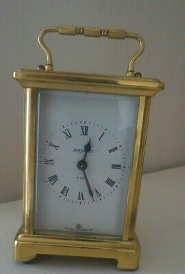 Bayard  mechanical 8.Day carriage clock. Working order. French