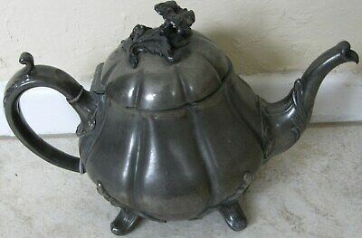 Shaw & Fisher antique teapot - 1240 - M - Sheffield