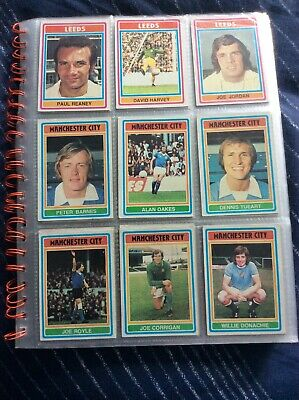Topps 1976 Blue Back Football Cards, 129 In All