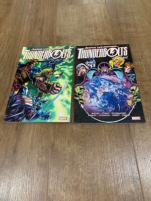 Thunderbolts Classic Volumes 1 And 2 Marvel Busiek