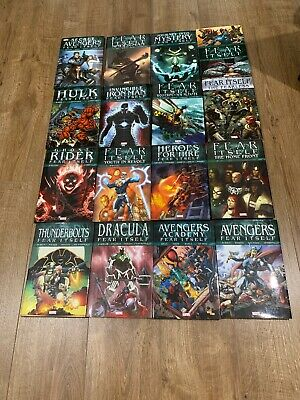 Fear Itself Marvel Hardcovers X16 Avengers Spider-man