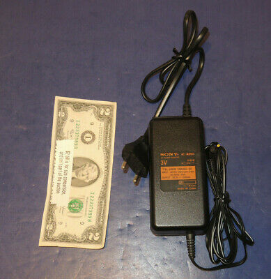 Euro Sony AC Power Adapter AC-MZR55 120V or 240V Input to 3 Volt - 500mA Output