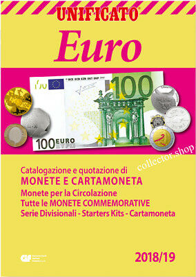 Unificato 2018-2019 Un Catalogo Monete-Cartamoneta Euro