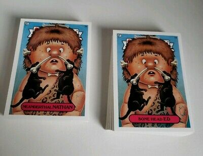 Garbage Pail Kids Ans1 Complete 80  Card Set -  2003 - All New Series 1