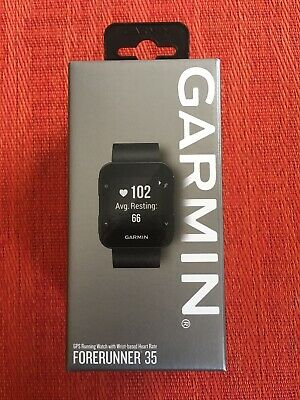 NEW Garmin Forerunner 35 GPS Watch | Wrist Based HR | Activity Tracker | Black