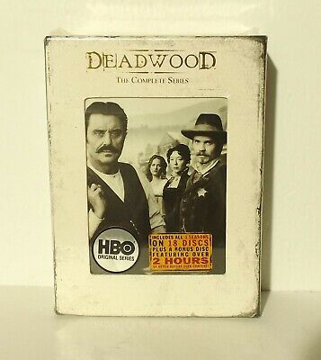 Deadwood - The Complete Series HBO (DVD, 2008, 19-Disc Set) NEW & FACTORY SEALED