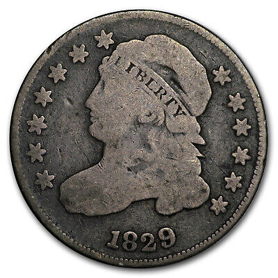 1829 Capped Bust Dime Small 10 C Good - SKU#176795