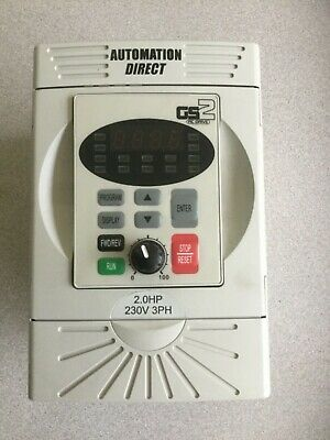 Automation Direct GS2-22PO  3 HP  AC Micro Drive