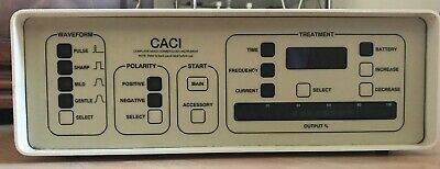 CACI MK1 Original Portable Microcurrent Facial Machine Great for Mobile Therapis