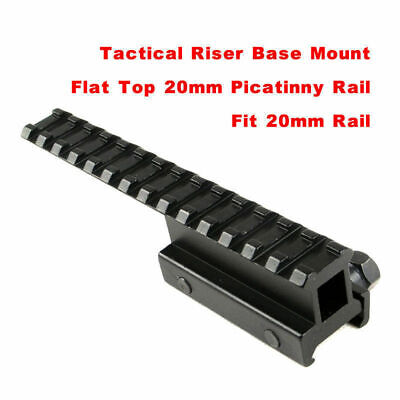 "1"" Picatinny Rail Mount Extented Rail Adapter Riser airsoft paintball Erhöhung"