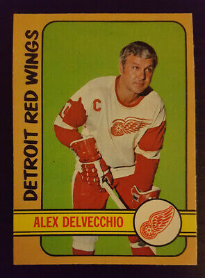 1972-73 OPC O-Pee-Chee Hockey #26 Alex Delvecchio Detroit Red Wings