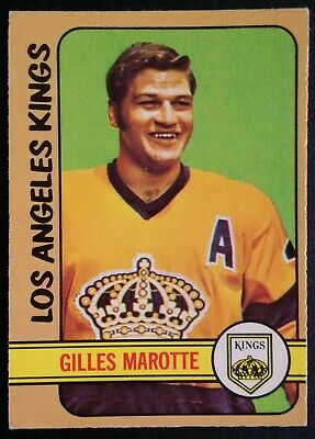 1972-73 OPC O-Pee-Chee Hockey #27 Gilles Marotte Los Angeles Kings