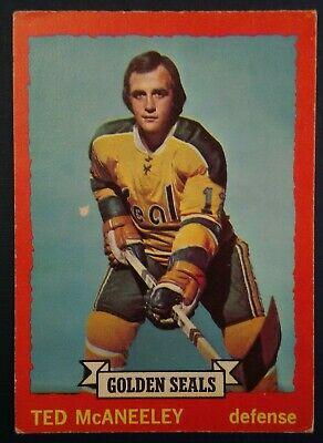 1973-74 OPC O-Pee-Chee Hockey #37 Ted McAneeley California Golden Seals
