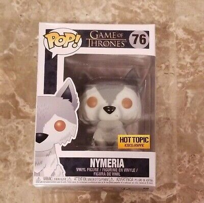 Funko Pop Nymeria Game of Thrones #76 Hot Topic Exclusive
