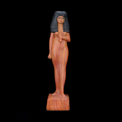 Statuette of Ancient Egyptian Queen Tiye of New Kingdom Museum Replica art