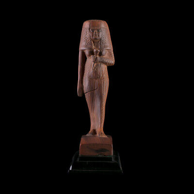 Statuette of Ancient Egyptian Queen Tiye of the New Kingdom, Museum Replica art